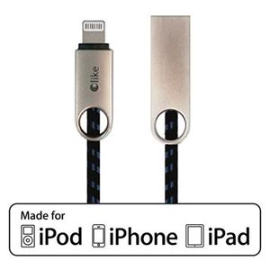 Picture of OLIKE LIGHTNING USB DATA CABLE (30CM) UP TO 2.4A CHARGING CURRENT