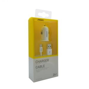 Picture of Original Pisen iCar Charger with Lightning Data Cable