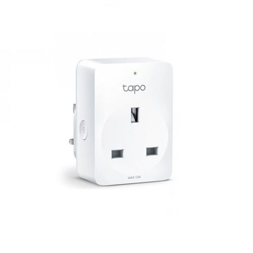 Picture of TP-Link Tapo P100 Mini Smart Home WiFi Wireless Power Socket Plug [Remote Control | Schedule Auto On/Off | Support Google Assistant, Alexa]