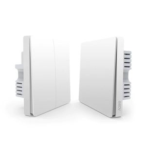 Picture of Aqara Wall Switch - Double Rocker/Gang without neutral