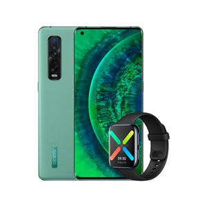Picture of OPPO Find X2 Pro | OPPO Watch Green Vegan Leather Edition [12GB RAM + 512GB ROM] - Original OPPO Malaysia