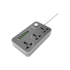 Picture of LDNIO SC3604 3 Socket with 6 USB Output