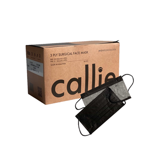 Picture of Callie Ultra Blackout - 3PLY Face Mask [50 Pieces]