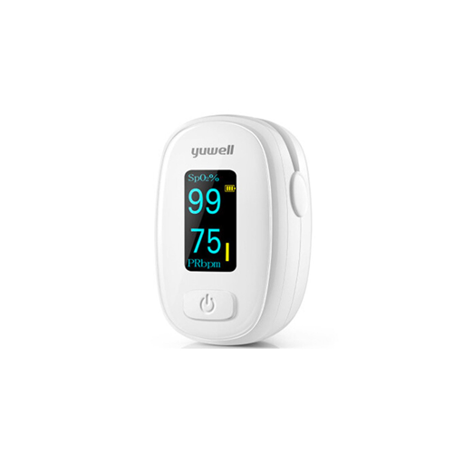 Picture of Yuwell YX306 Finger Pulse Oximeter [Digital Fingertip Pulse Oximeter | Blood Oxygen Saturation Meter | Health Care With LED Screen]