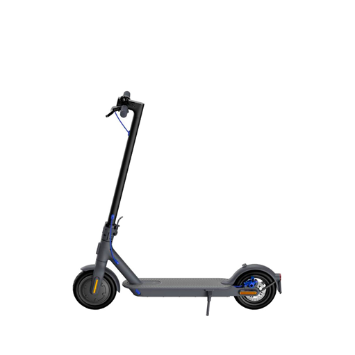 Picture of Mi Electric Scooter 3 [Travels Up To 30 km Distance   25km/h   Maximum Power 600 W   New Rear Dual-Pad Disc Brake   3-Step Folding   Aerospace Grade Aluminum Body]