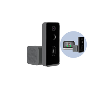 Picture of Xiaomi Smart Video Doorbell 2 [Smart Doorbell | AI Face Recognition | Infrared Night Vision Doorbell | Two-way Intercom | HD Wide Angle 1080P Smart AI Doorbell]